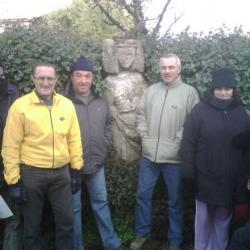 la statue à St Marc