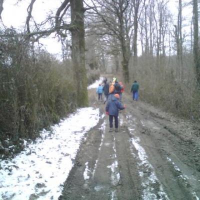 marche , février 2010, Vouvant