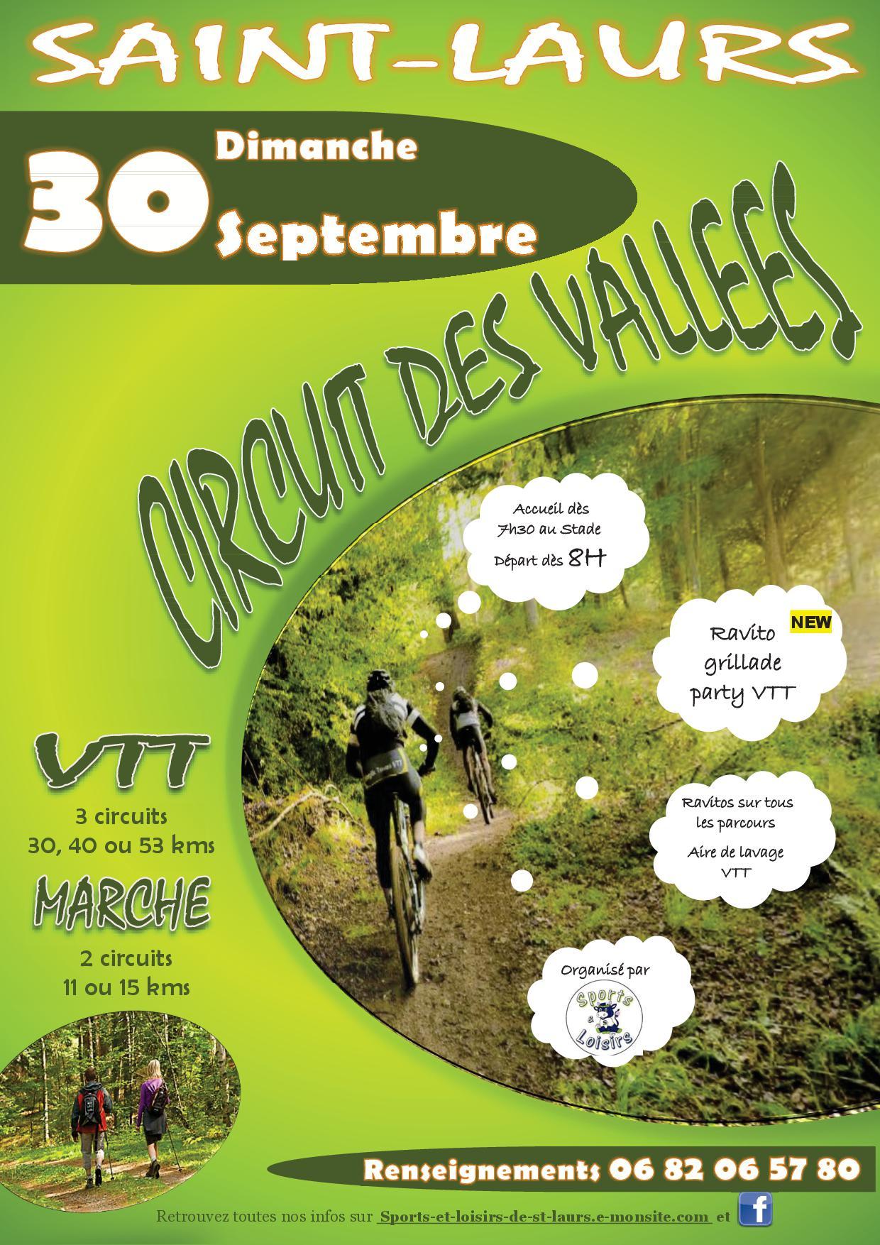 Affiche circuit des vallees 2019